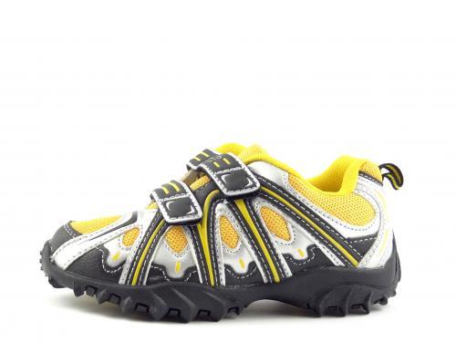 Dětská obuv Aurelia 67816Y yellow silver black