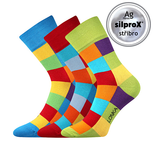 Lonka ponožky mix A