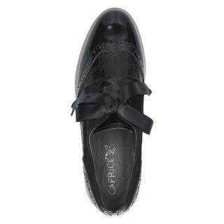 Polobotky Caprice černé 23300