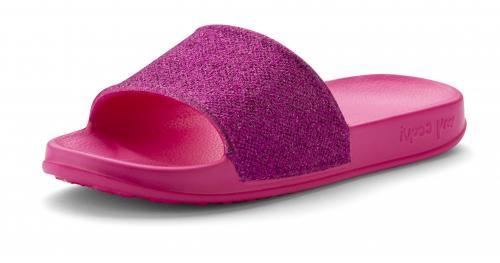 COQUI pantofle fuchsia glitter