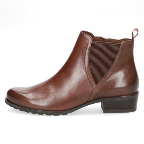 Kotníková obuv hnědá CAPRICE 25301