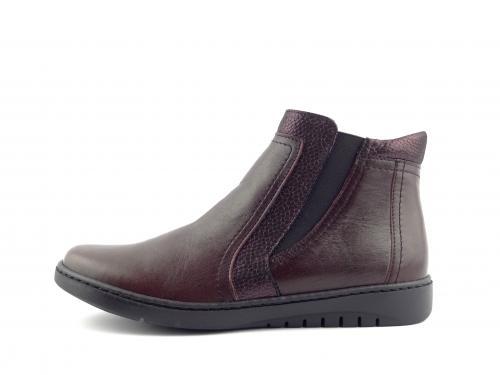 kotníková obuv Aurelia bordó 310