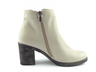 Kotníková obuv Aurelia šedá 384