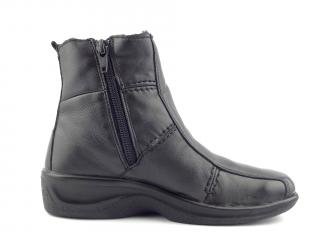Kotníková obuv černá 4219 FUR