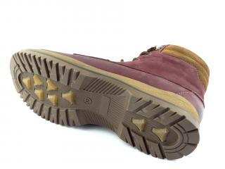 Aurelia obuv kotníková bordó 360