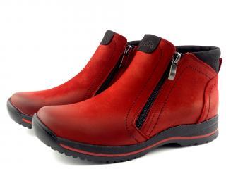Aurelia  obuv kotníková červená 359