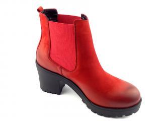 Aurelia obuv kotníková červená 271