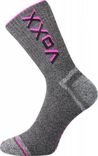 Voxx neon růžové ponožka Hawk