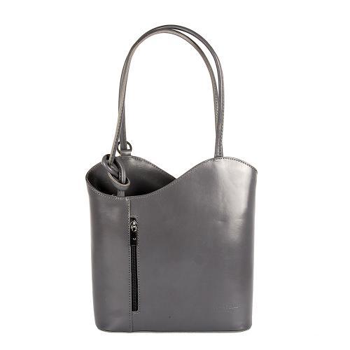 Vera Pelle kabelka i batoh,sv.šedá
