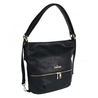 Kabelka i batoh černá GAL035