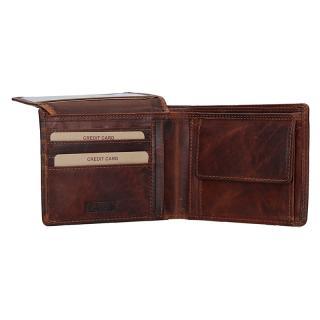Lagen peněženka hnědá 6537