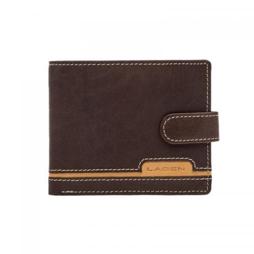 Lagen peněženka kožená hnědá