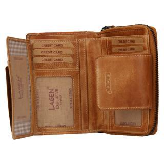 Peněženka Lagen 931/D caramel