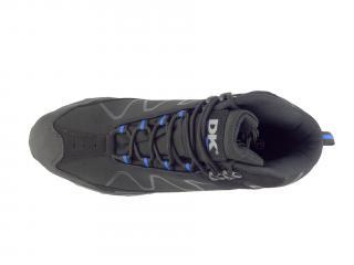 Obuv DK 2147 black blue softshell