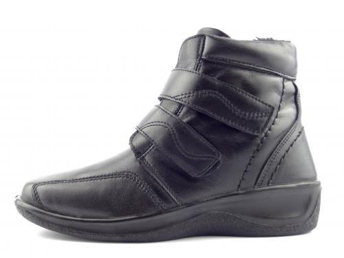 Kotníková obuv černá 4697 FUR