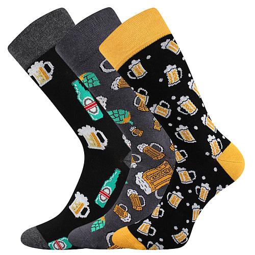 Ponožky dárkové balení Debox E pánské barevná