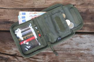 Brandit peněženka woodland 8043 10