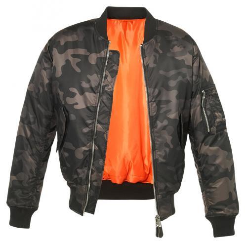 Pánská bunda 3159 MA1 dark camo