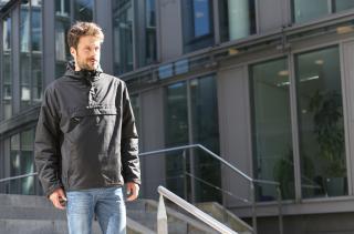 Brandit bunda 3001 Windbreaker černá