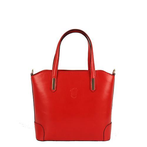 Vera Pelle 340 kabelka červená