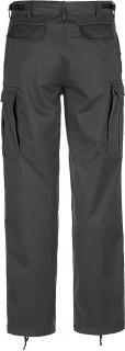 Brandit kalhoty US Ranger černé  1006 02