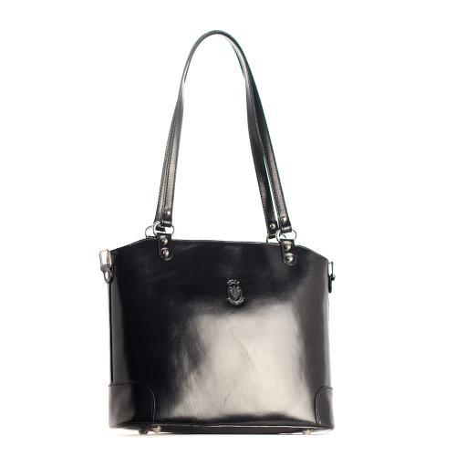 Vera Pelle kabelka černá