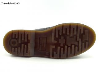 Selma 3 dírkové crazy brown 14D01C5 hnědá