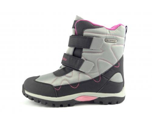 Zimní dětská obuv Wojtylko 20198 šedá