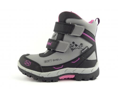 Dětská zimní obuv Axim 11576 šedá