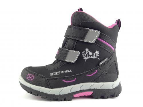Dětská zimní obuv Axim 11576 černá