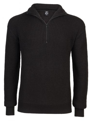 Pánský svetr Marine Pullover Troyer černý