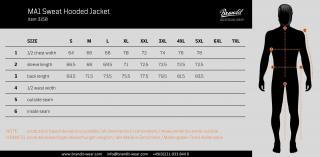 Pánská zimní bunda Brandit MA1 Sweat Hooded 3150 oliva