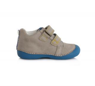 Chlapecká celoroční obuv D. D. Step 015798A  šedá