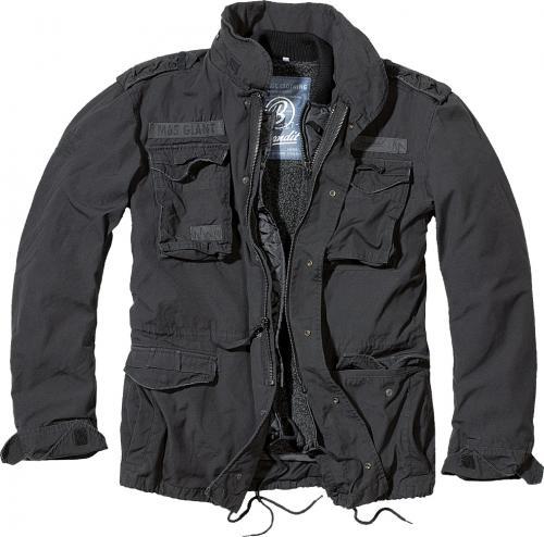 Pánská bunda Brandit 3101 M65 Giant černá