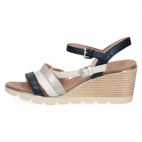 Caprice sandály 28709  modrá