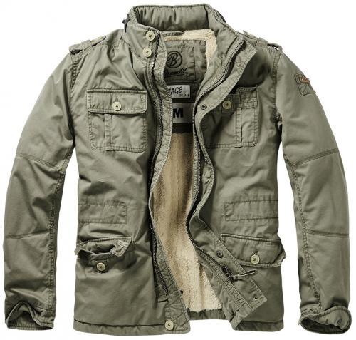 Pánská zimní bunda Britannia Winter Jacket 9390  oliva