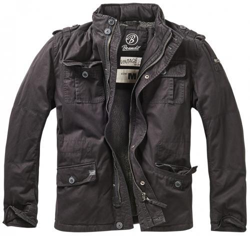 Pánská zimní bunda Britannia Winter Jacket 9390  černá