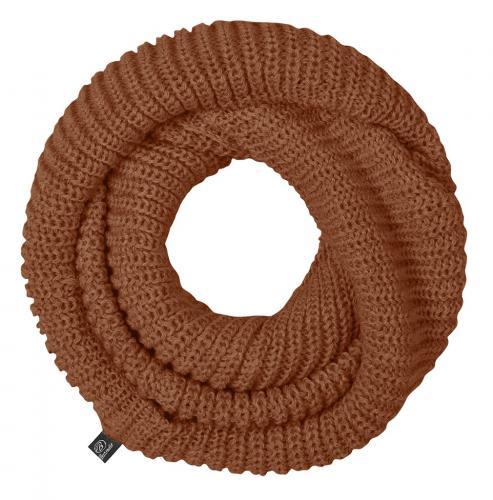 Brandit tunelová šála knitted taupe 7003-129