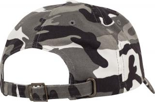 Kšiltovka Brandit Low Profile Camo Washed Cap urban 7048.15