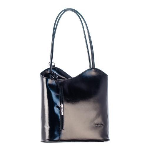 Vera Pelle černá kabelka i batoh
