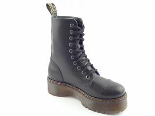 Steel boty 10 dírek 105/106/ALS DUR1 černá