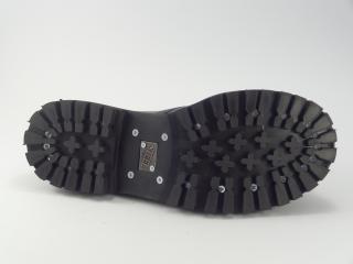 Steel boty 3 dírky 101/102/O černá