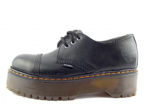 Steel boty 3 dírky 101/ALS DUR1 černá