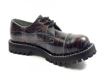 Steel boty 3 dírky 101/102/O/UK black černá