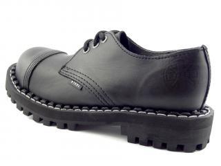 Steel boty 3 dírky 101/102/O/CRAZY černá