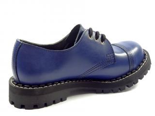 Steel boty 3 dírky 101/102/O/FULL  modrá