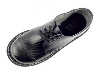 Steel boty 3 dírky 101/102/O/D195  černá