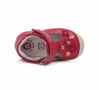 Dívčí sandál D.D. step 015 467B tmavě růžová
