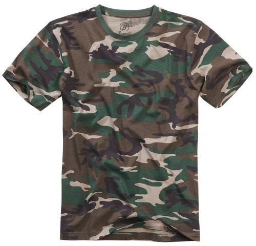 Brandit tričko 4200  woodland