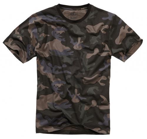 Brandit tričko 4200  dark camo